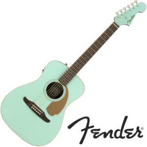 Fender© กีตาร์โปร่งไฟฟ้า Malibu Player (Califonia Series) + ปิ๊กอัพ Fishman© ** ประกันศูนย์ 1 ปี **