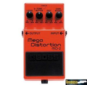 เอฟเฟคกีตาร์ เสียงเเตก ดิสทอร์ชั่น Boss MD-2 Mega Distortion