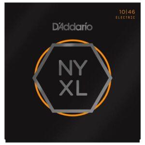 D'Addario© สายกีตาร์ไฟฟ้า เบอร์ 10 แบบนิกเกิล ซีรีย์ NYXL รุ่น NYXL1046 (Regular Light, 10-46)