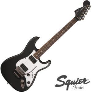 Fender© กีตาร์ไฟฟ้า Squier© Contemporary Active Strat HH (22 เฟร็ต ไม้ Poplar มี Floyd Rose©)