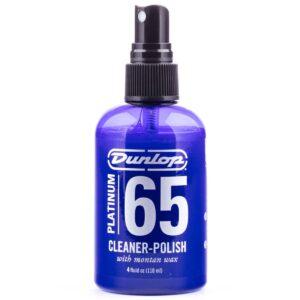 น้ำยาทำความสะอาดกีตาร์ Dunlop  สูตรเข้มข้นพิเศษ มีแว็กซ์เคลือบผิว รุ่น Platinum 65 Cleaner-Polish