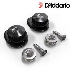 D'Addario© หมุดใส่สายสะพาย ปุ่มใส่สายสะพาย ตัวล็อคสายสะพายแบบพิเศษ (Universal Strap Lock System)