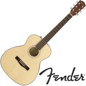 Fender© Travel Guitar กีตาร์โปร่ง กีตาร์ทราเวล 38 นิ้ว ไม้ท็อปโซลิดสปรูซ รุ่น CT-60S
