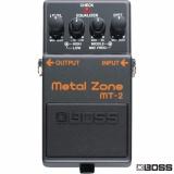 เอฟเฟคกีตาร์ เสีงเเตก ฺBossMetal Zone / Distortion รุ่น MT-2 ( Metal Zone Guitar Effects Pedal )