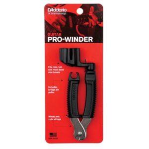 D'Addario© ที่ตัดสายกีตาร์ / ถอดหมุด / หมุนลูกบิด กีตาร์โปร่งและกีตาร์ไฟฟ้า รุ่น Pro Winder, Guitar