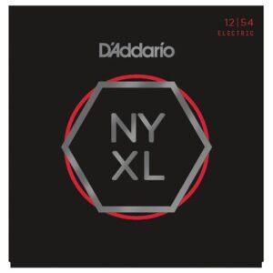 D'Addario© สายกีตาร์ไฟฟ้า เบอร์ 12 วัสดุนิกเกิล  ซีรีย์ NYXL รุ่น NYXL1254 Heavy, 12-54)