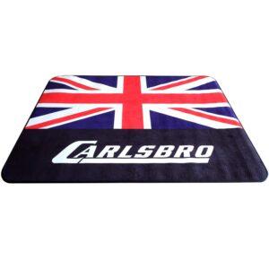 Carlsbro Drum Mat พรมกลอง พรมกลองชุดไฟฟ้า ลายอังกฤษ ขนาด120x 148 ซม. สำหรับ CSD120, CSD130, CSD110, CSD210, CSD230, CSD310, CSD500 รุ่น CEN15