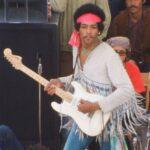 Fender Woodstock 1968 Strat กีต้าร์ในตำนานของ Jimi Hendrix